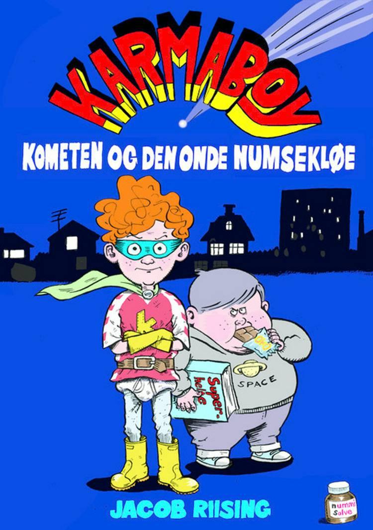 Karmaboy, kometen og den onde numsekløe, Jacob Riising, børnebog, børnebøger