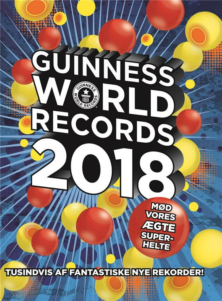 Guinness World Records 2018 af Guinness World Records