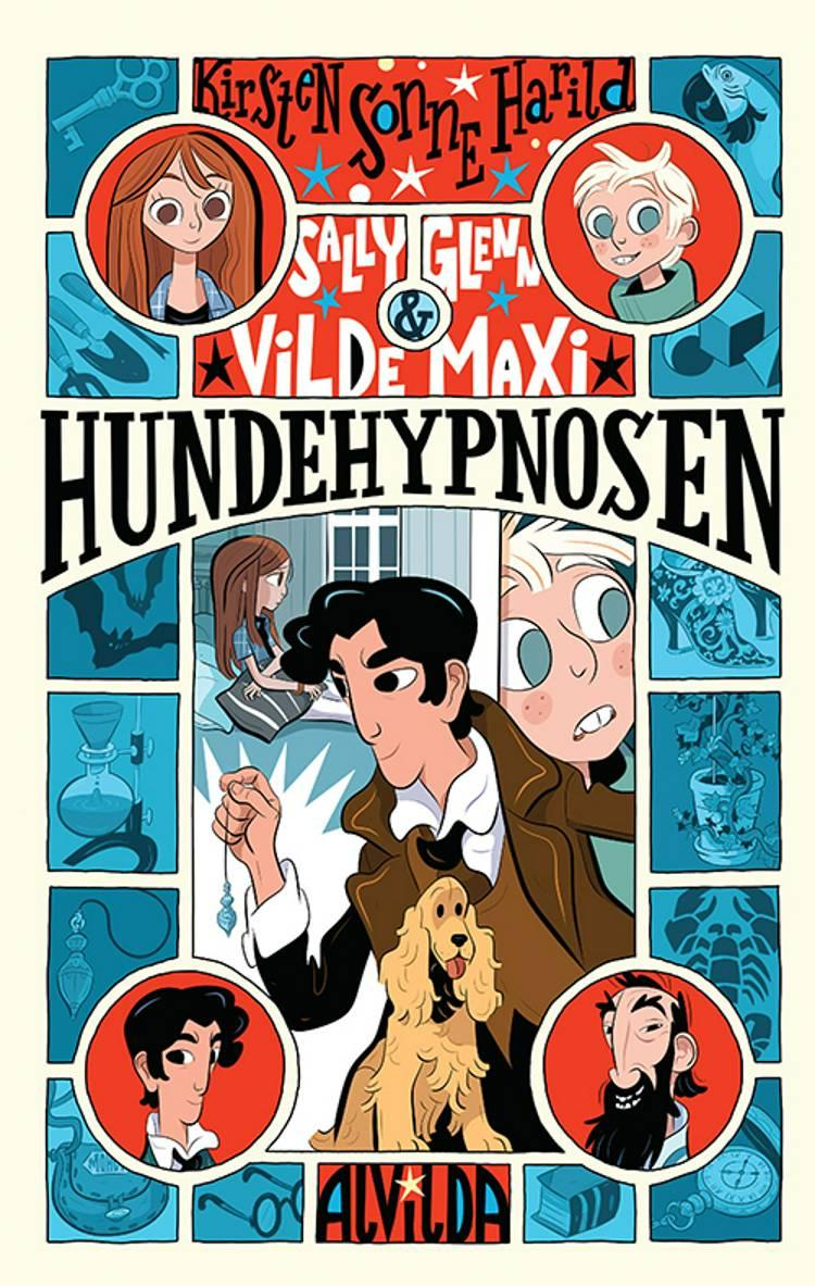 Sally, Glenn og vilde Maxi 1: Hundehypnosen af Kirsten Sonne Harild