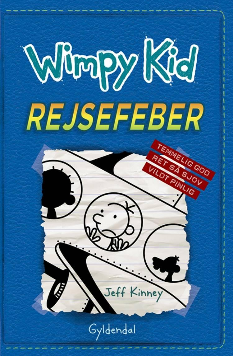 Wimpy Kid 12 - Rejsefeber af Jeff Kinney