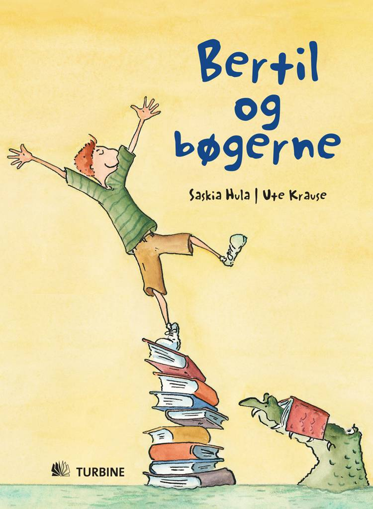 Bertil og bøgerne af Saskia Hula
