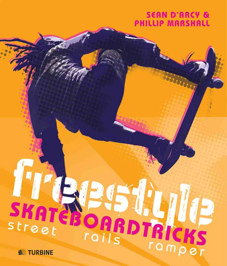 Freestyle skateboardtricks af Phillip Marshall og Sean D'Arcy