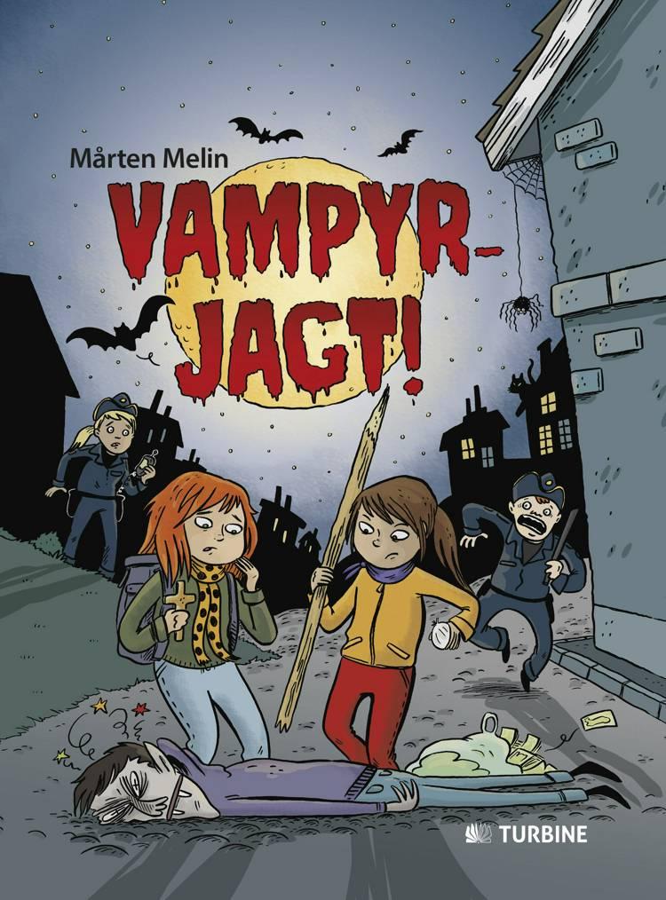 Vampyrjagt! af Mårten Melin