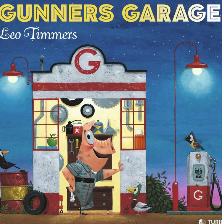 Gunners garage af Leo Timmers