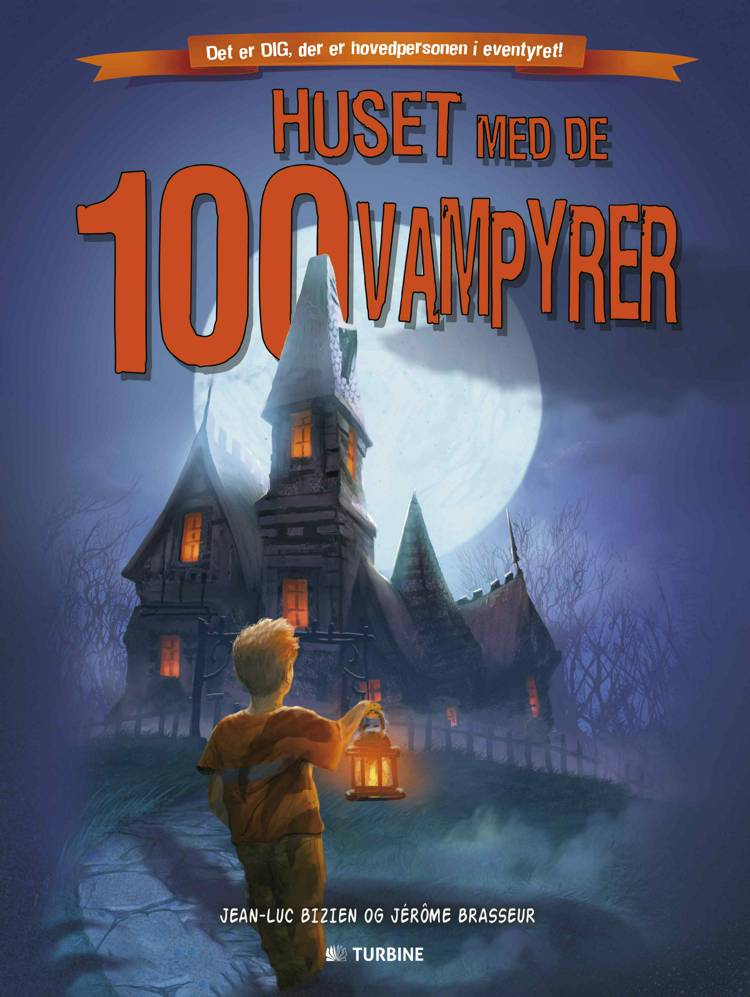 Huset med de 100 vampyrer af Jean-Lue Bizien og Jérôme Brassur