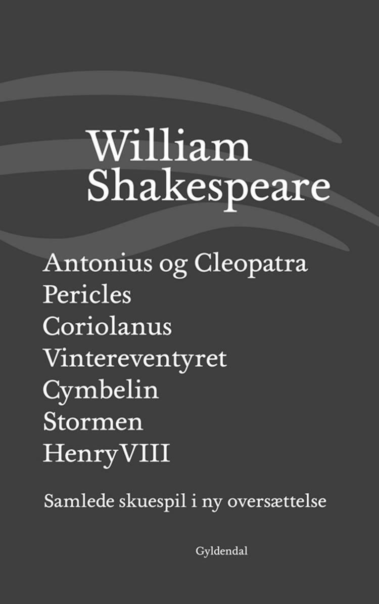 Samlede skuespil VI af William Shakespeare