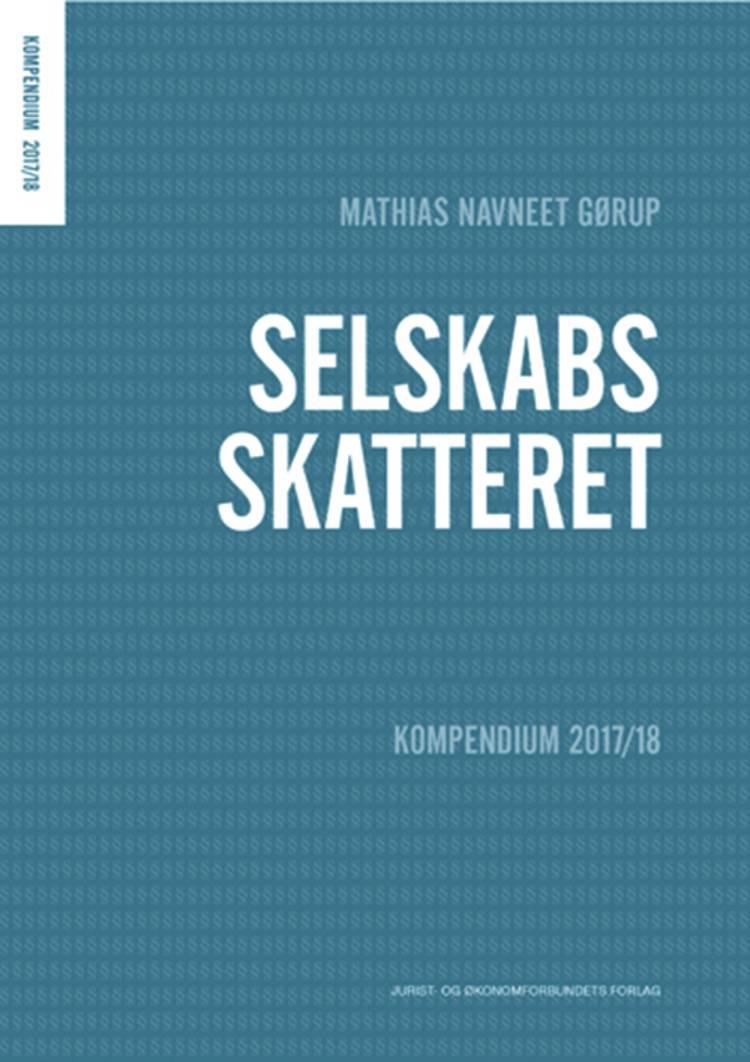 Selskabsskatteret af Mathias Navneet Gørup og af Mathias Navneet Gørup