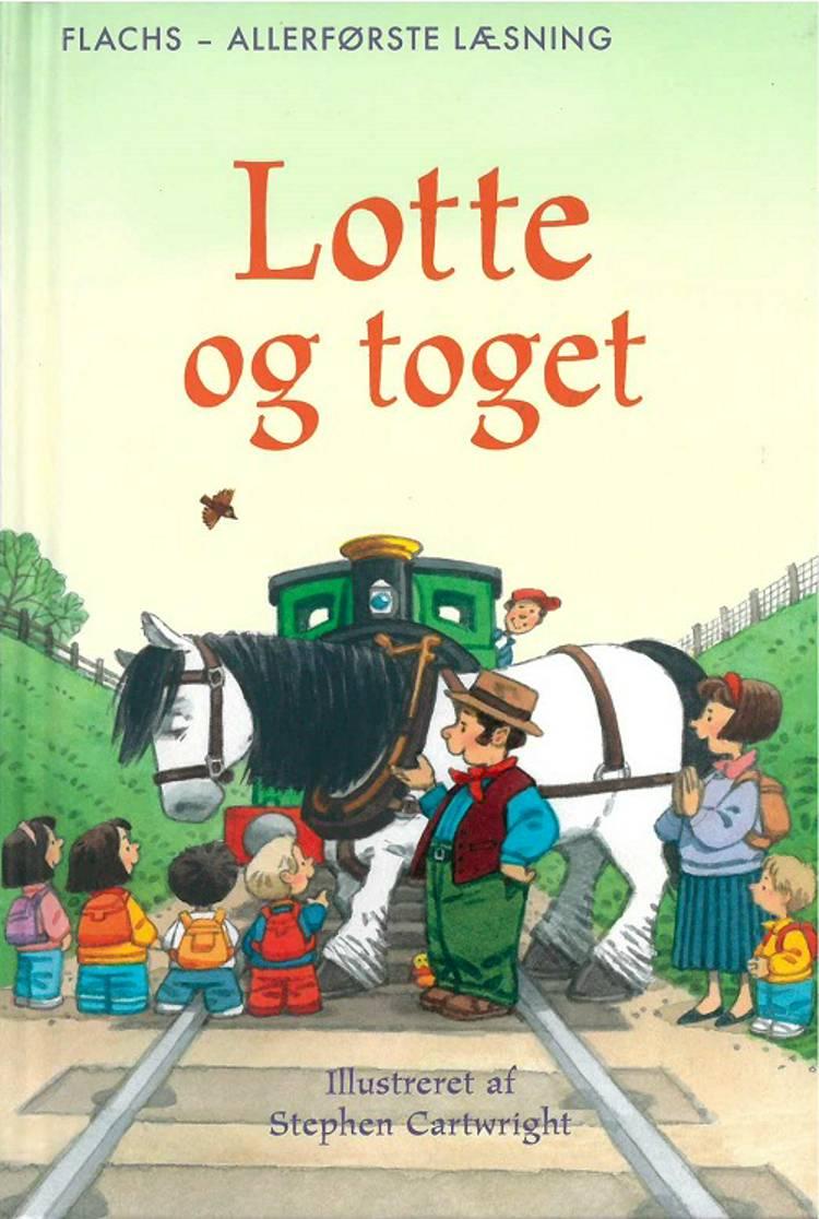 Lotte og toget af Heather Amery