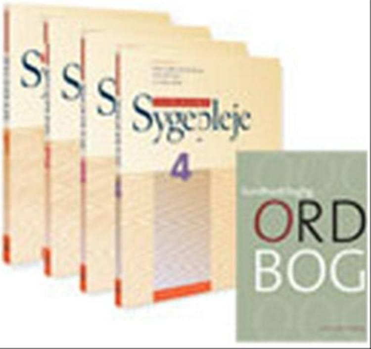 Grundlæggende sygepleje 1-4, og Sundhedsfaglig ordbog af Per Nortvedt, Nina Jahren Kristoffersen og Eli-Anne Skaug