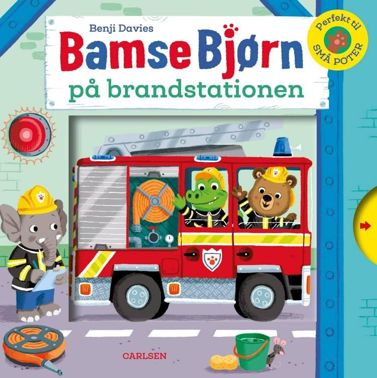 Bamse Bjørn på brandstationen af Benji Davies
