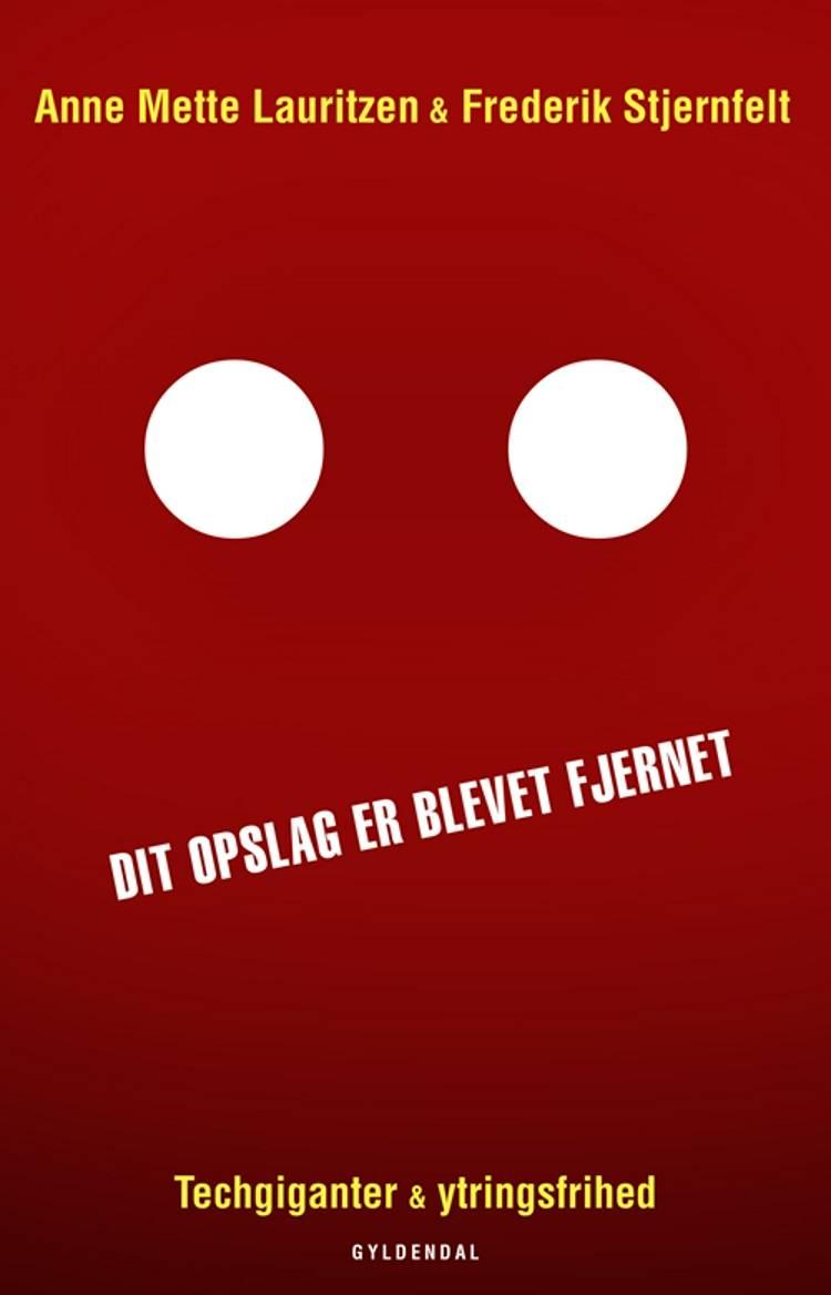 Dit opslag er blevet fjernet af Frederik Stjernfelt og Anne Mette Lauritzen