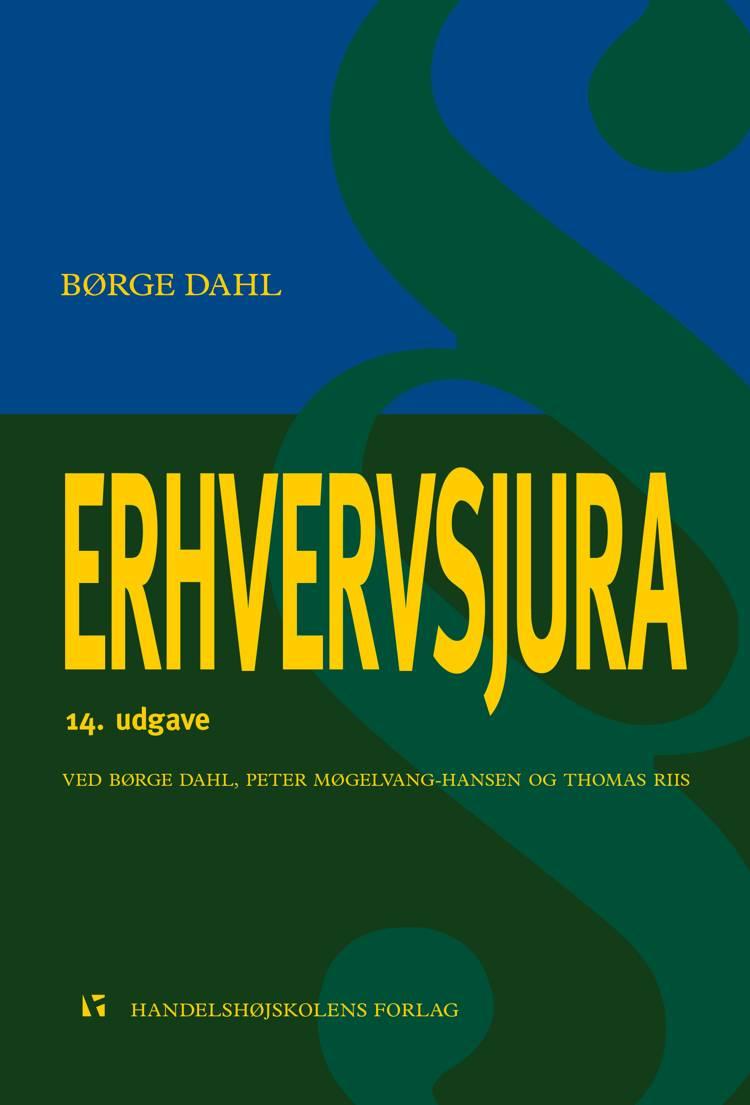 Erhvervsjura af Børge Dahl, Thomas Riis og Peter Møgelvang-Hansen m.fl.
