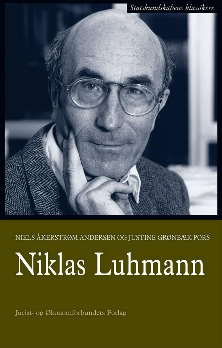 Niklas Luhmann af Niels Åkerstrøm Andersen, Justine Grønbæk Pors og Niels Åkestrøm Andersen