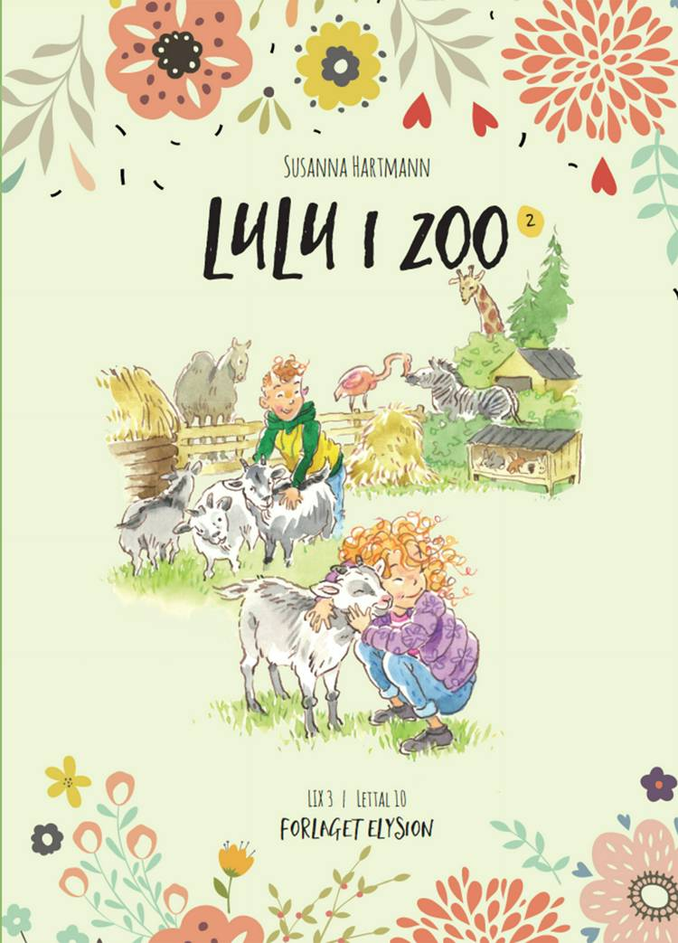 Lulu i Zoo af Susanna Hartmann