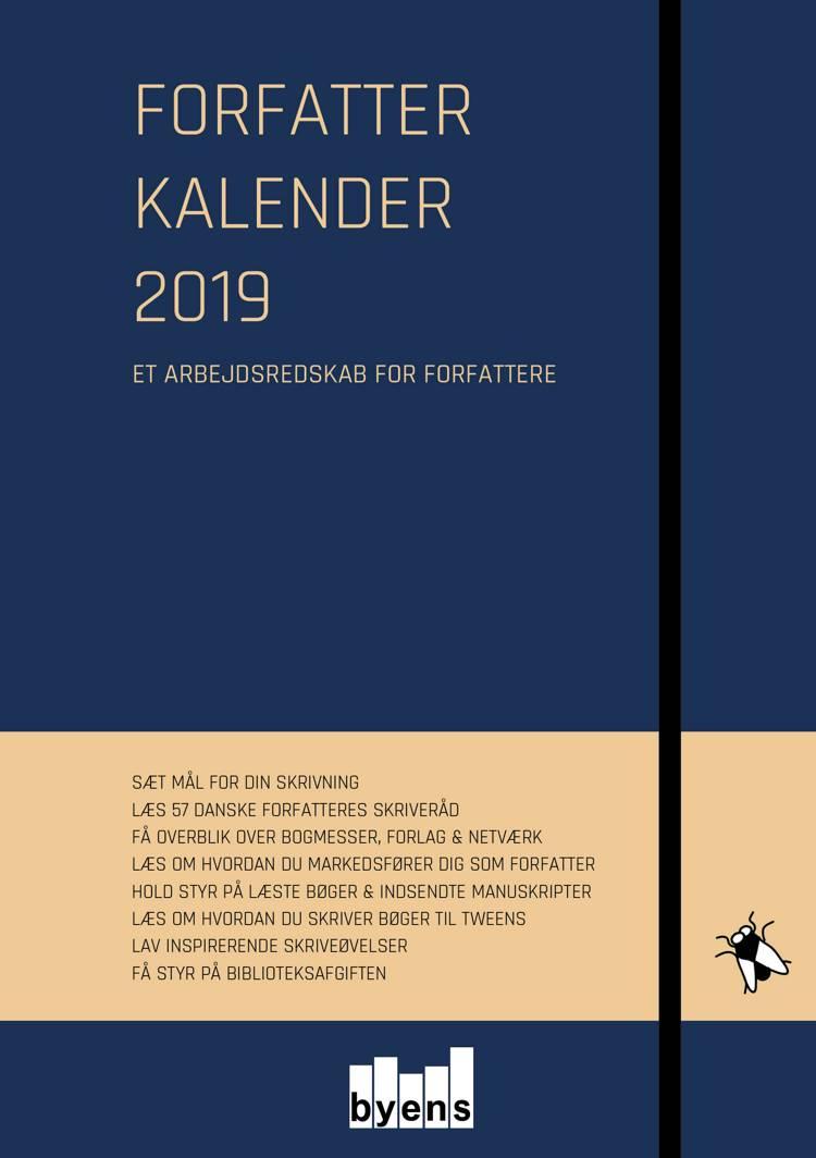 Forfatterkalender 2019 af Alice Aagaard