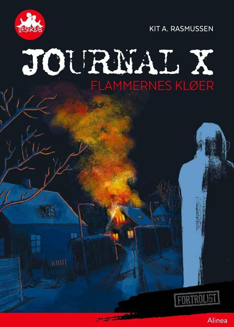 Journal X - Flammernes kløer, Rød Læseklub af Kit A. Rasmussen