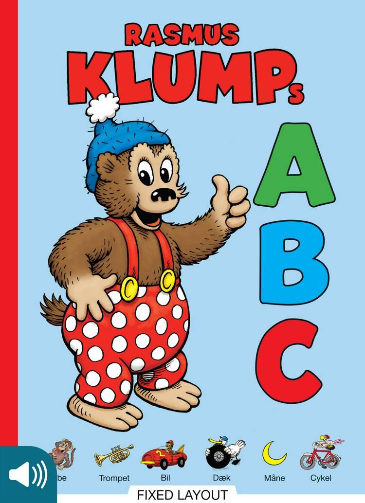 Rasmus Klumps ABC af Marianne Larsen