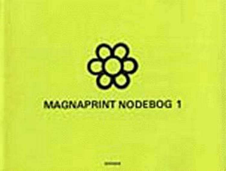 Magnaprint nodebog af Ingen forfatter