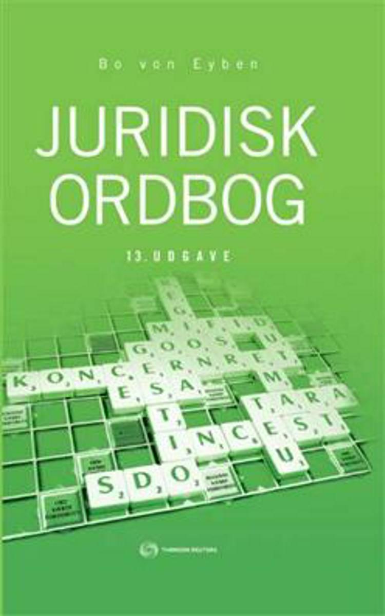 Juridisk ordbog af Bo von Eyben og W. E. von Eyben