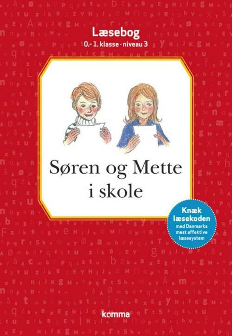 Søren og Mette i skole af Knud Hermansen og Ejvind Jensen