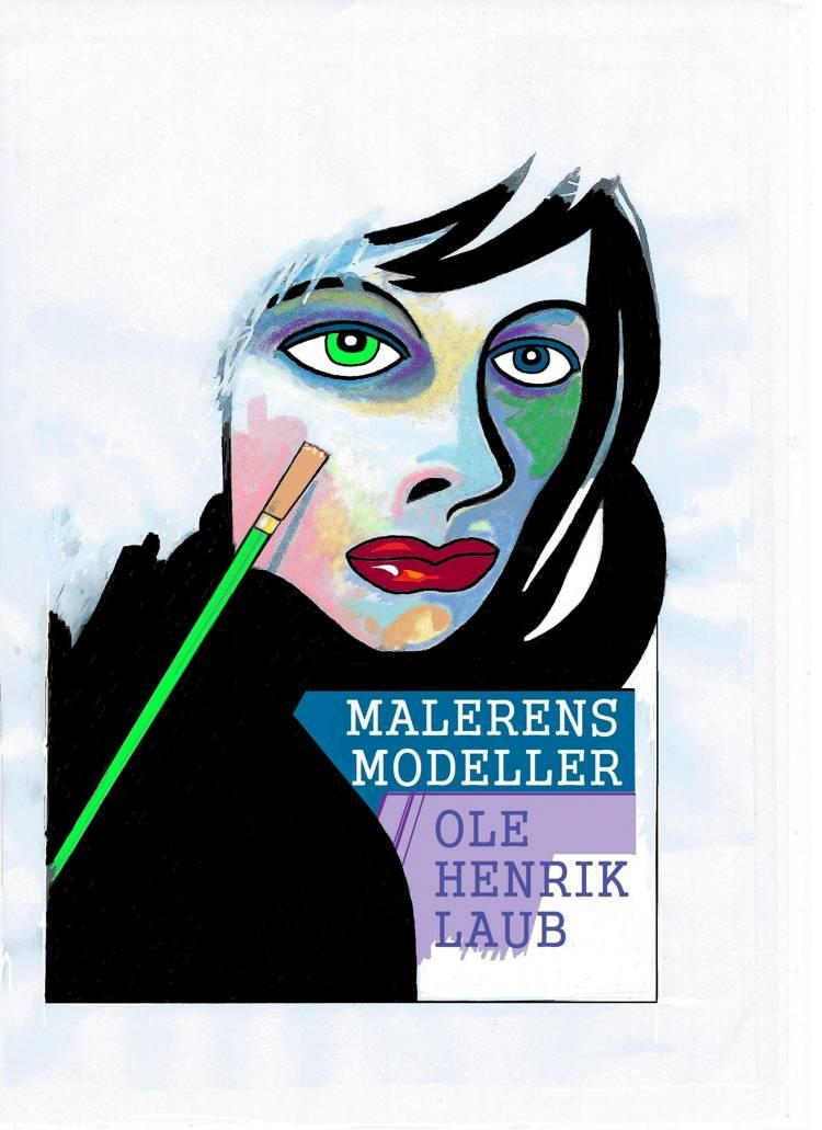 Malerens modeller af Ole Henrik Laub