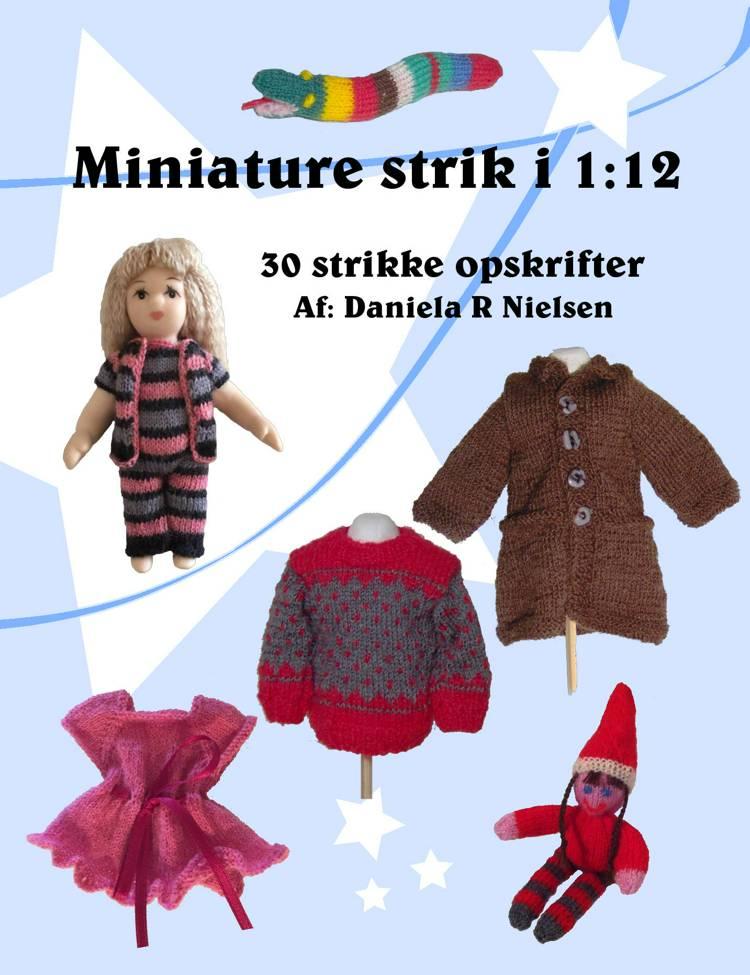 Miniature strik i 1:12 af Daniela Nielsen