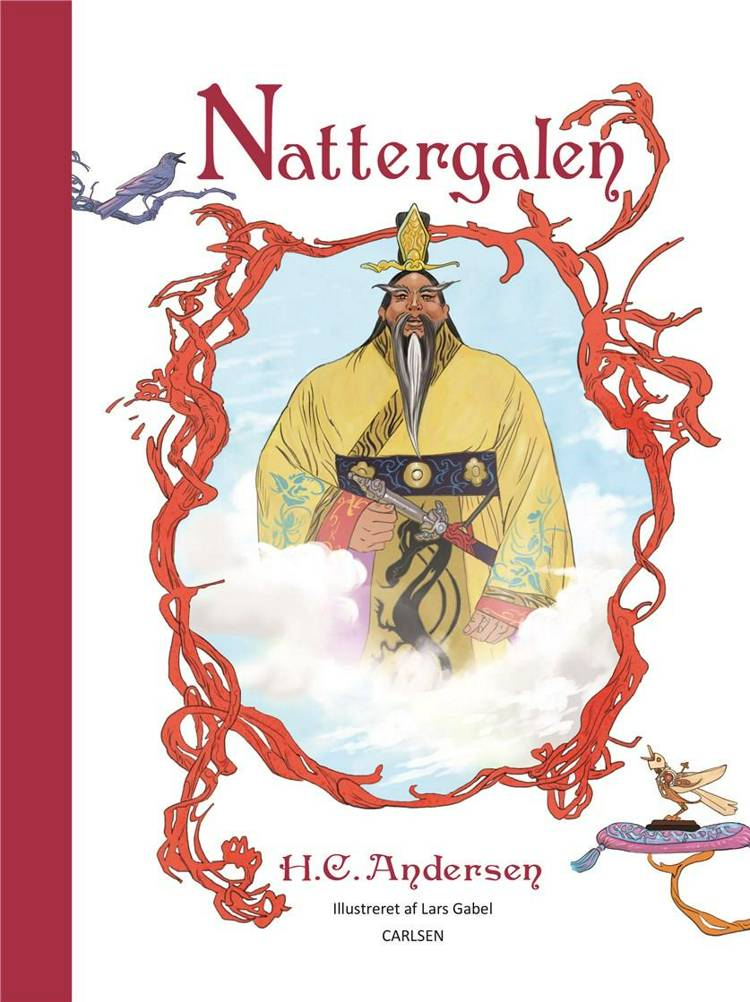 Nattergalen. Illustreret af H.C. Andersen