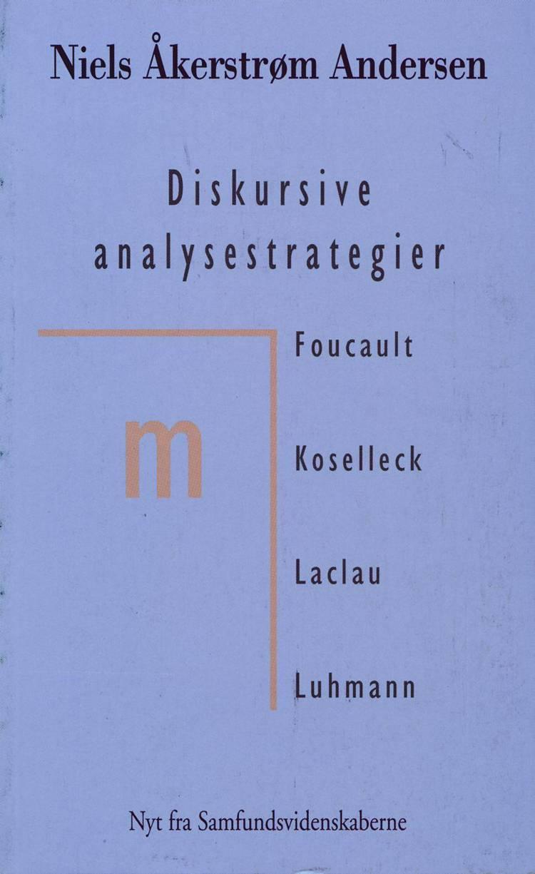 Diskursive analysestrategier af Niels Åkerstrøm Andersen