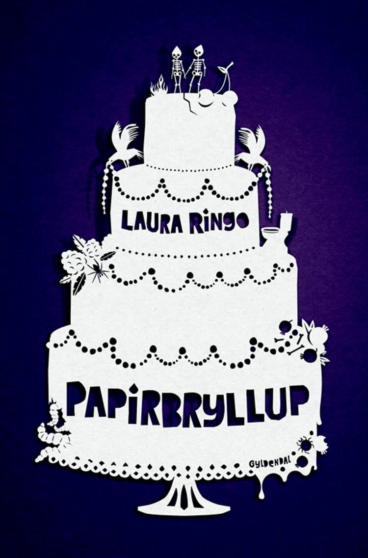 Papirbryllup af Laura Ringo