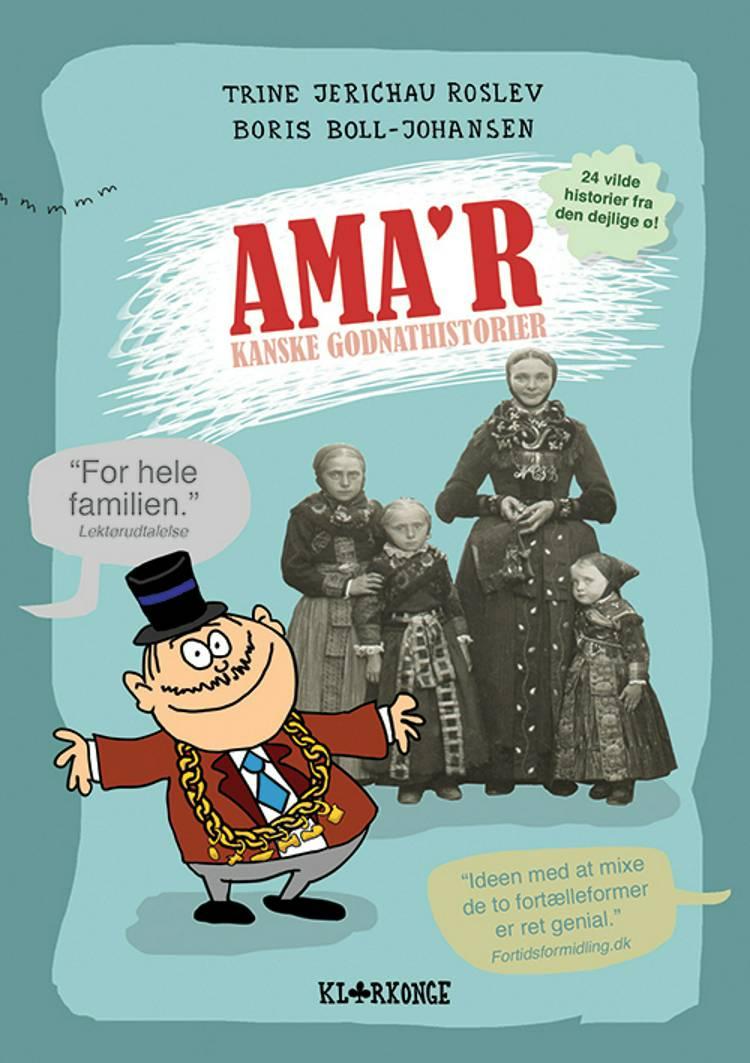 Ama'rkanske godnathistorier af Boris Boll-Johansen, Trine Jerichau Roslev og Trine Roslev