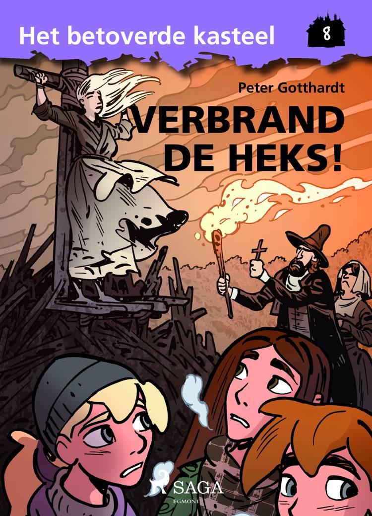 Het betoverde kasteel 8 - Verbrand de Heks! af Peter Gotthardt
