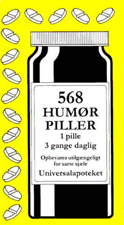 568 humørpiller af Jacob Wisby
