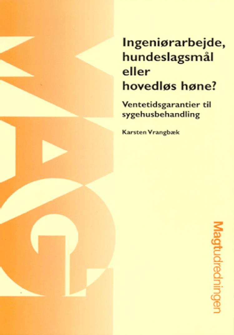 Ingeniørarbejde, hundeslagsmål eller hovedløs høne? af Karsten Vrangbæk