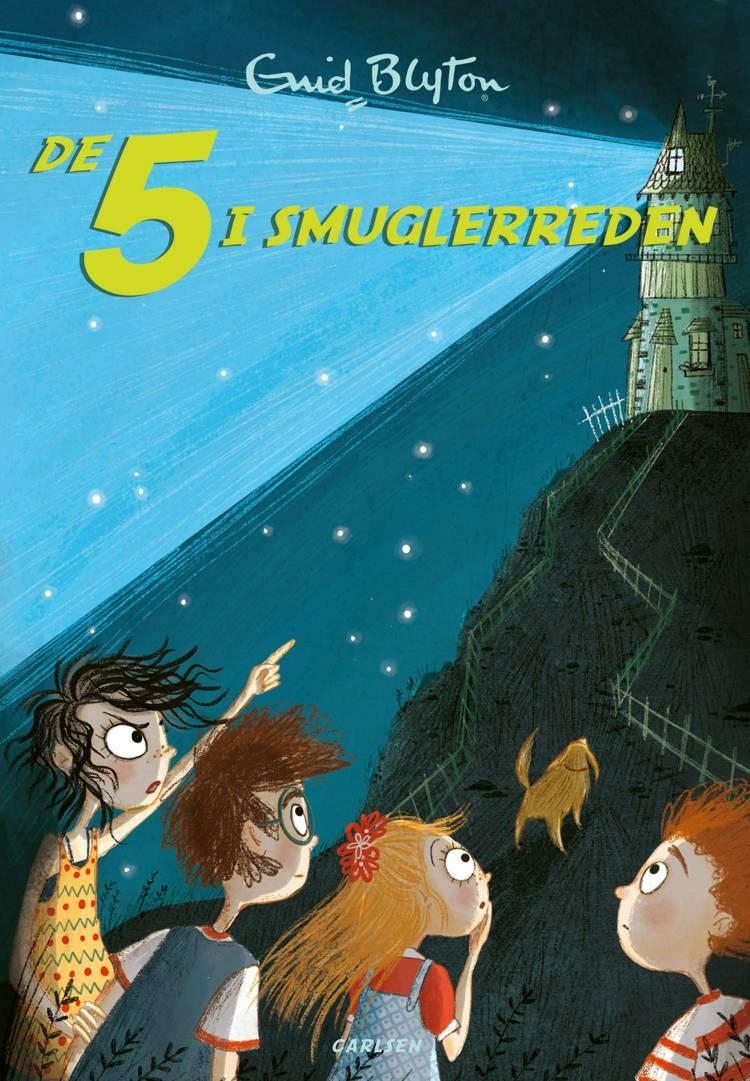 De Fem i smuglerreden af Enid Blyton