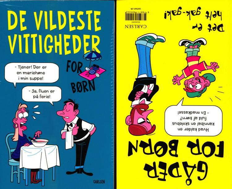 De vildeste vittigheder og gåder for børn - Det er helt gak-gak! ( kolli 5 )