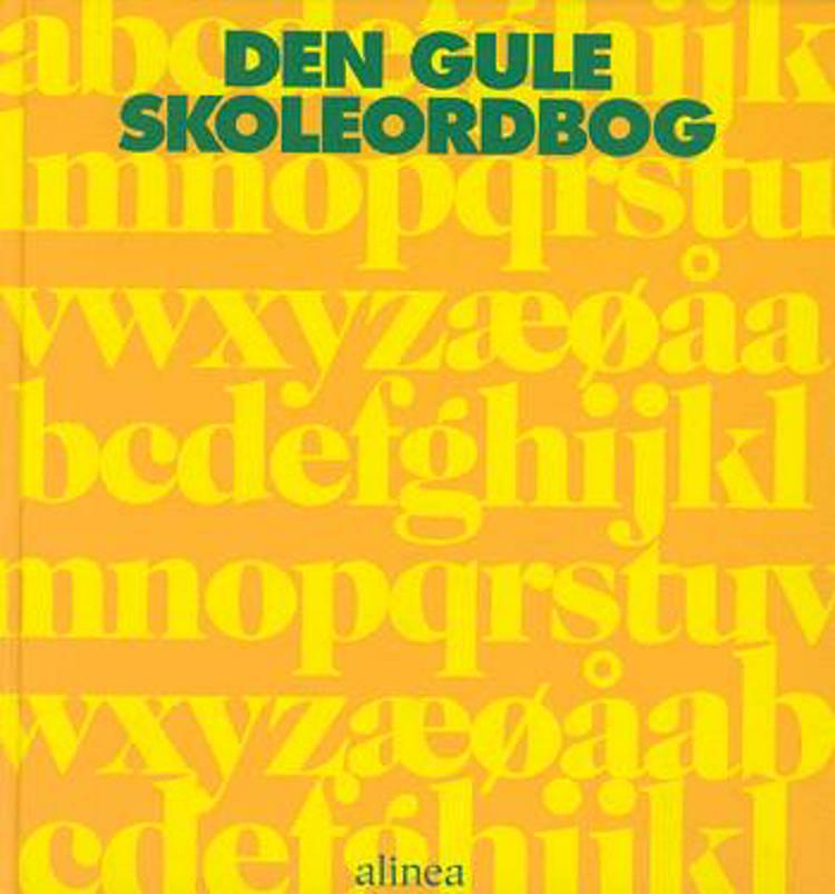 Den gule skoleordbog af Johan Brinth og Niels Holst