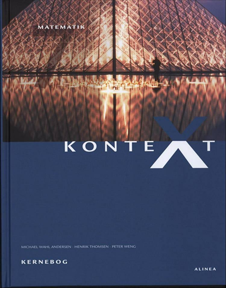 KonteXt 7 - matematik af Henrik Thomsen, Michael Wahl Andersen, Bent Lindhardt, Niels Jacob Hansen, Peter Weng og Lars Busch Johnsen m.fl.