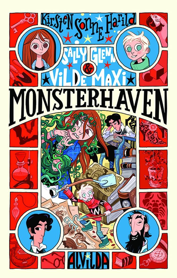 Sally, Glenn og vilde Maxi 3: Monsterhaven af Kirsten Sonne Harild