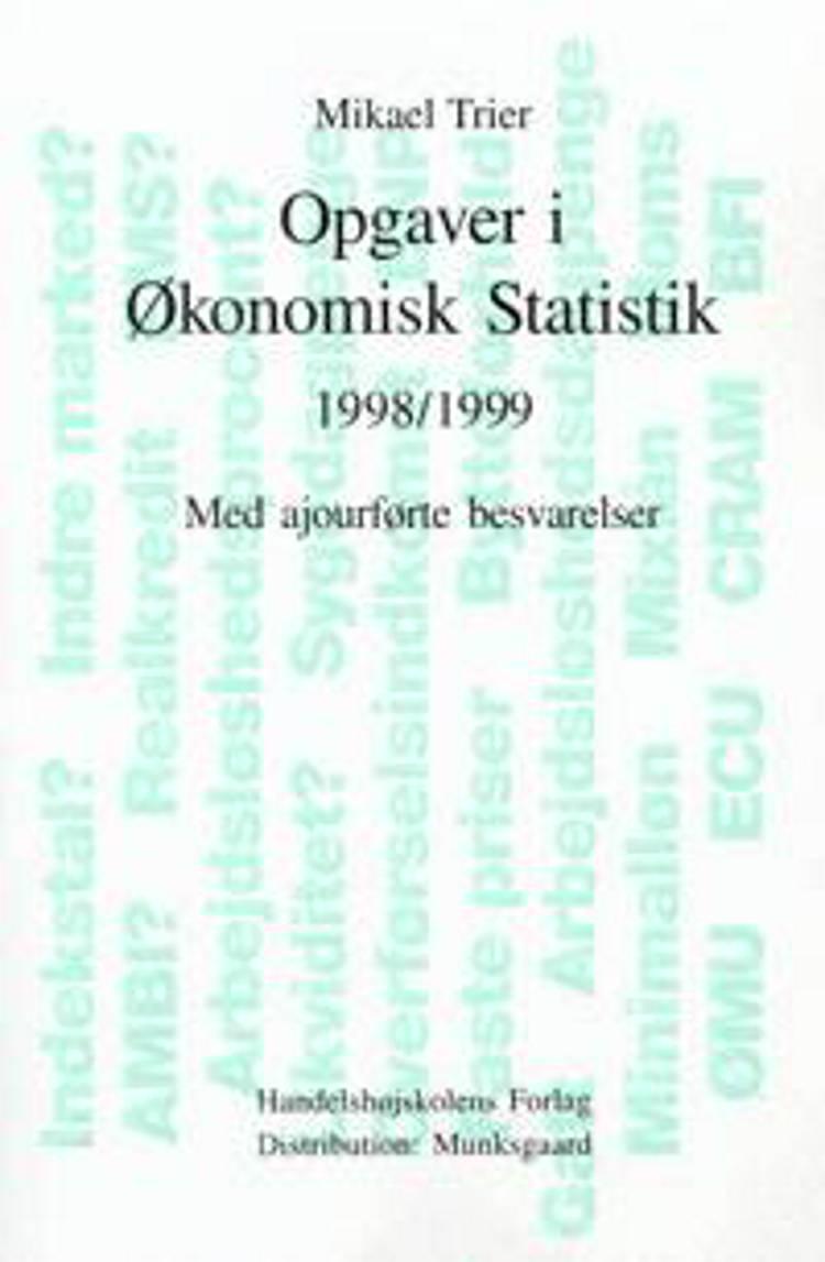 Opgaver i økonomisk statistik
