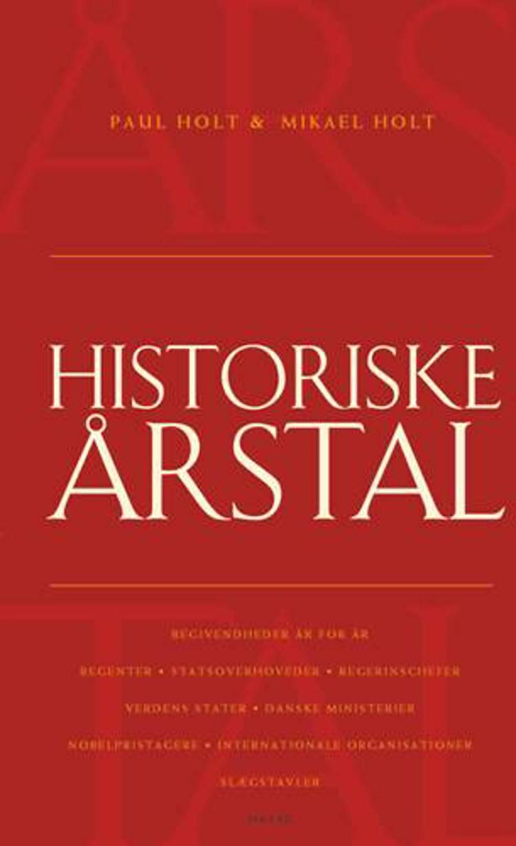 Historiske årstal af Paul Holt og Mikael Holt