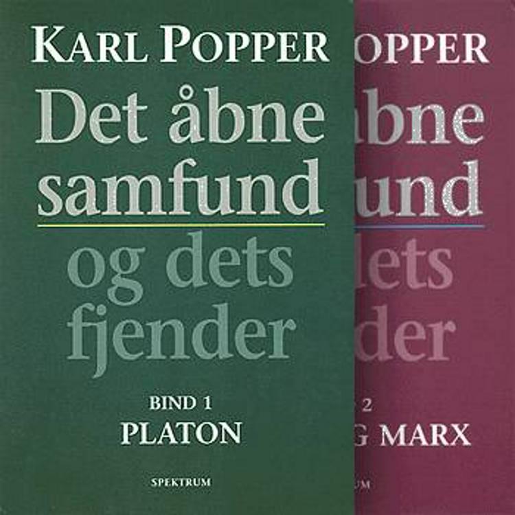 Det åbne samfund og dets fjender af Karl R. Popper