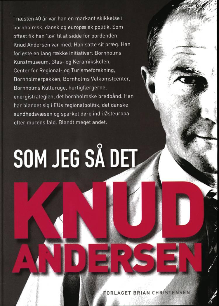 Knud Andersen - som jeg så det af Knud Andersen