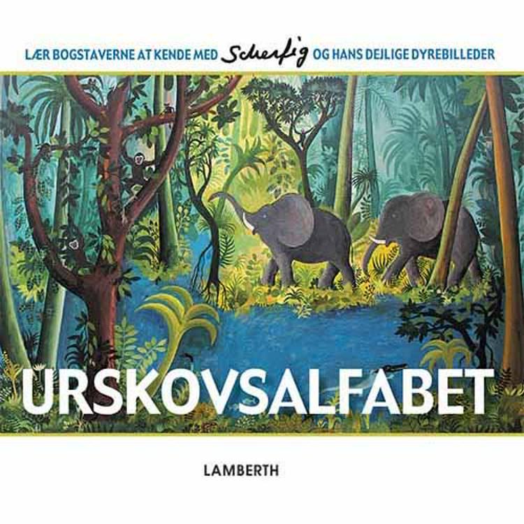 Urskovsalfabet af Lena Lamberth