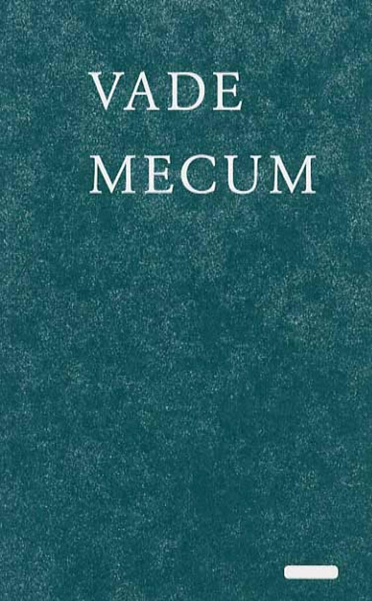 Vade mecum af Peter Meedom