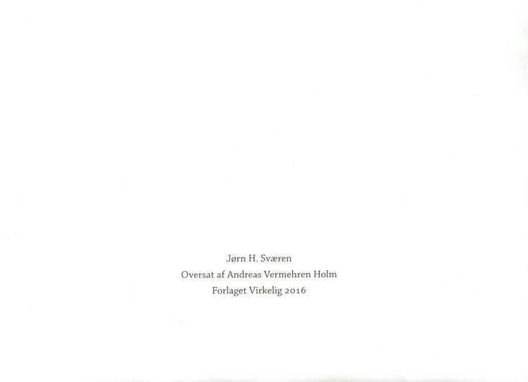 Bordkort af Jørn H. Sværen