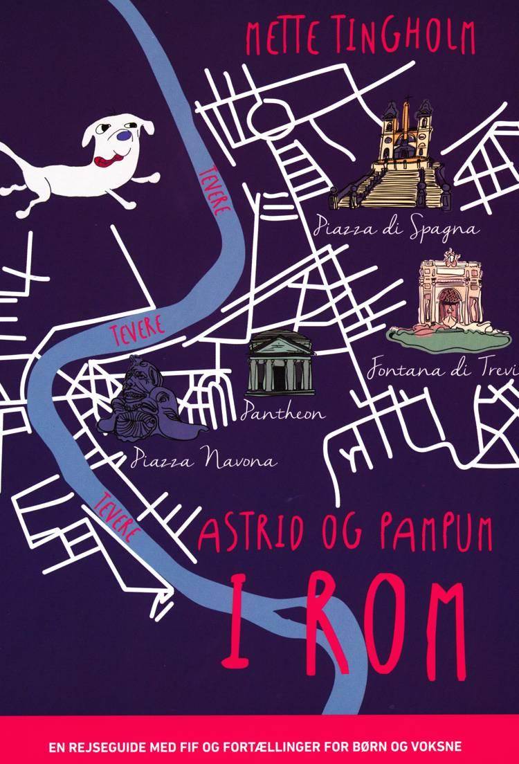 Astrid og Pampum i Rom af Mette Tingholm
