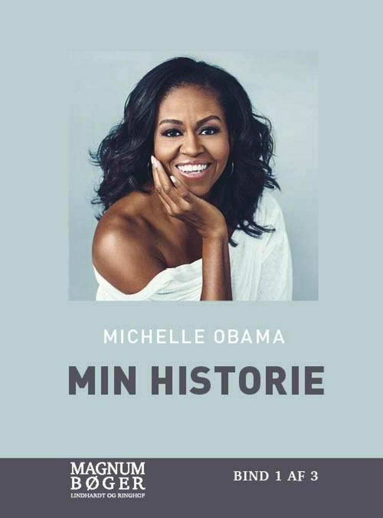Min historie (Storskrift) af Michelle Obama