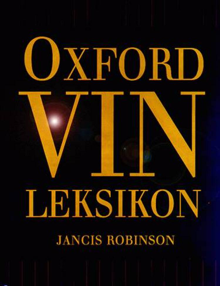 Oxford vinleksikon af Jancis Robinson