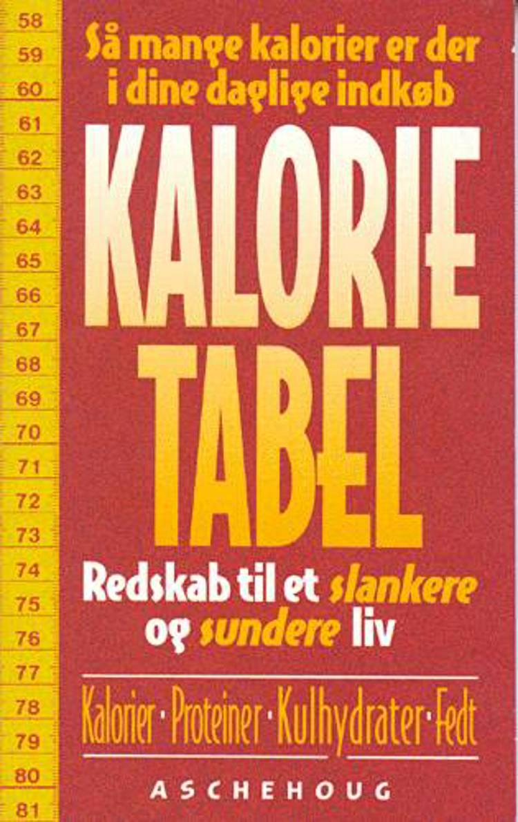 Kalorietabel af Annebeth Rosenvinge Skov