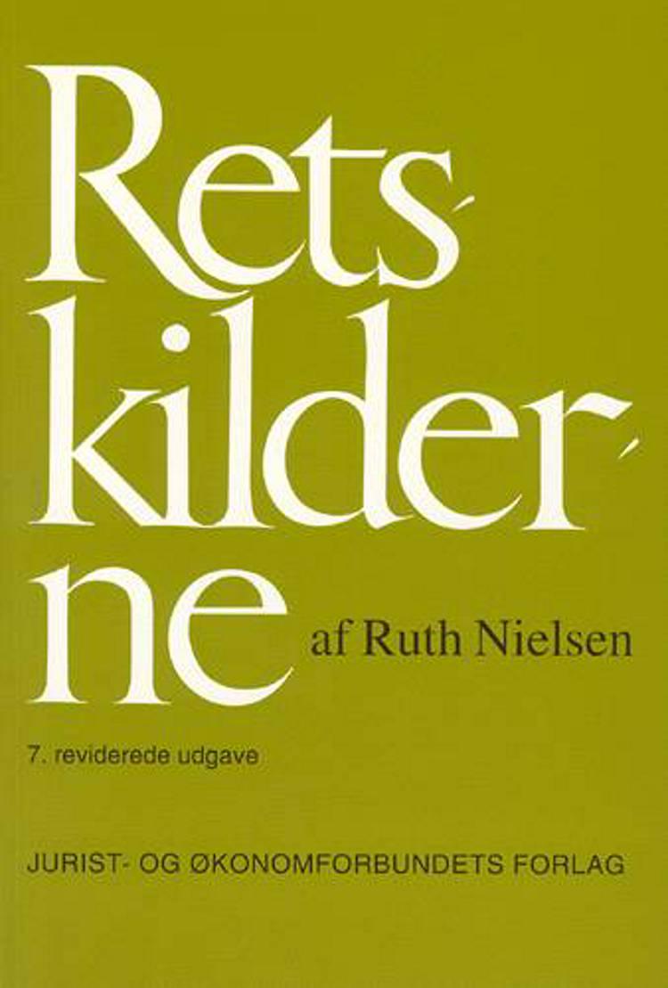Retskilderne af Ruth Nielsen